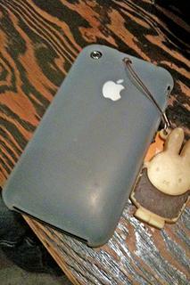 iPhoneシリコンカバー
